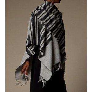 Love & Lore Grey Variegated Stripe Wrap
